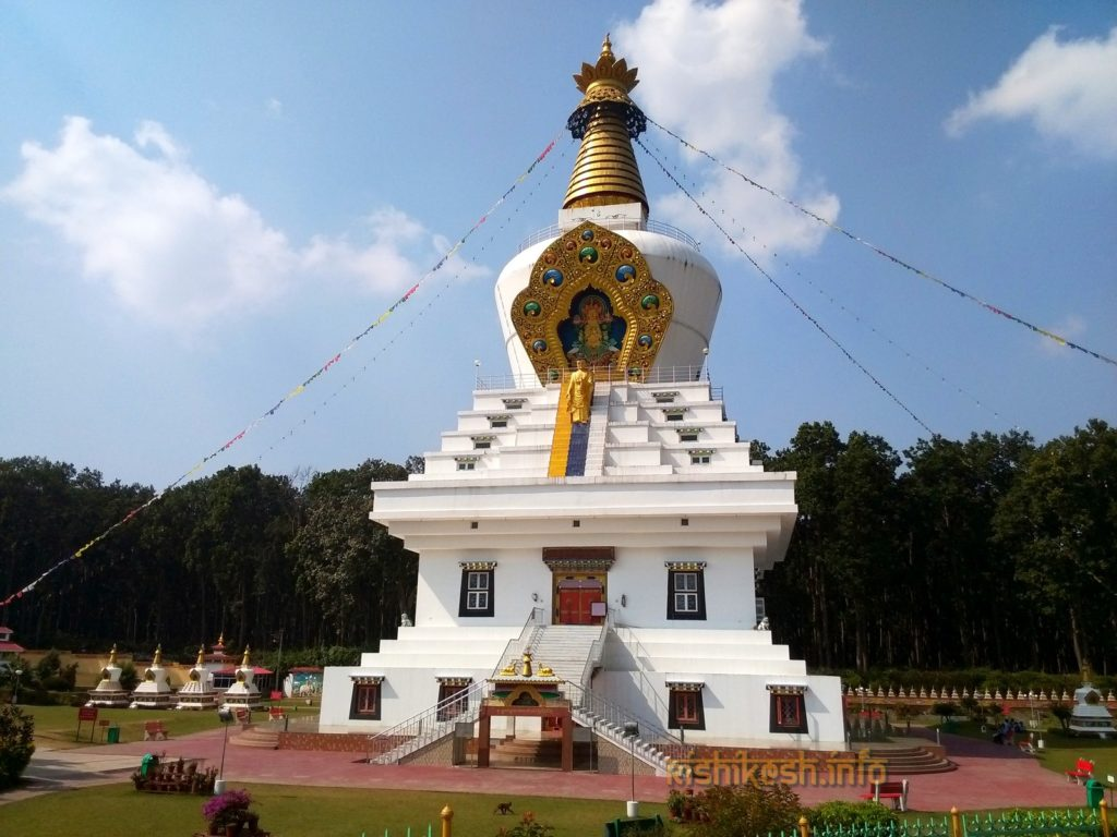 Stupa in a Tibetan colony on the outskirts of Dehradun